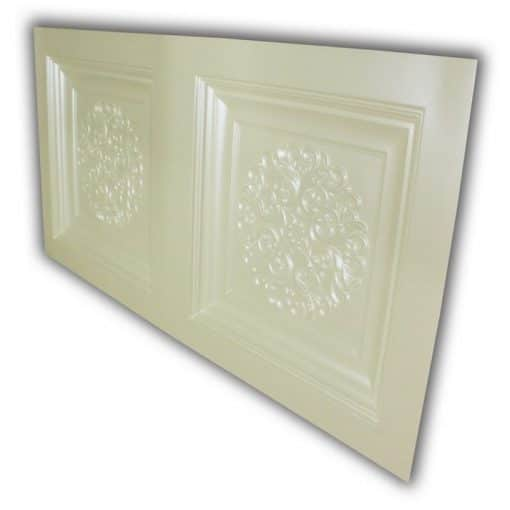 8268 Faux Tin Ceiling Tile- Cream Pearl