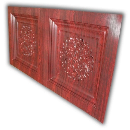 8268 Faux Tin Ceiling Tile- Rosewood