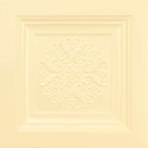 268 Faux Tin Ceiling Tile - Cream Pearl