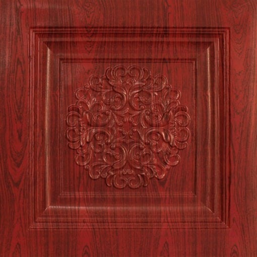 268 Faux Tin Ceiling Tile - Rosewood
