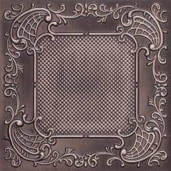269 Faux Tin Ceiling Tile - Antique Silver