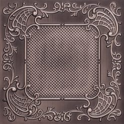 269 Faux Tin Ceiling Tile - Antique Silver