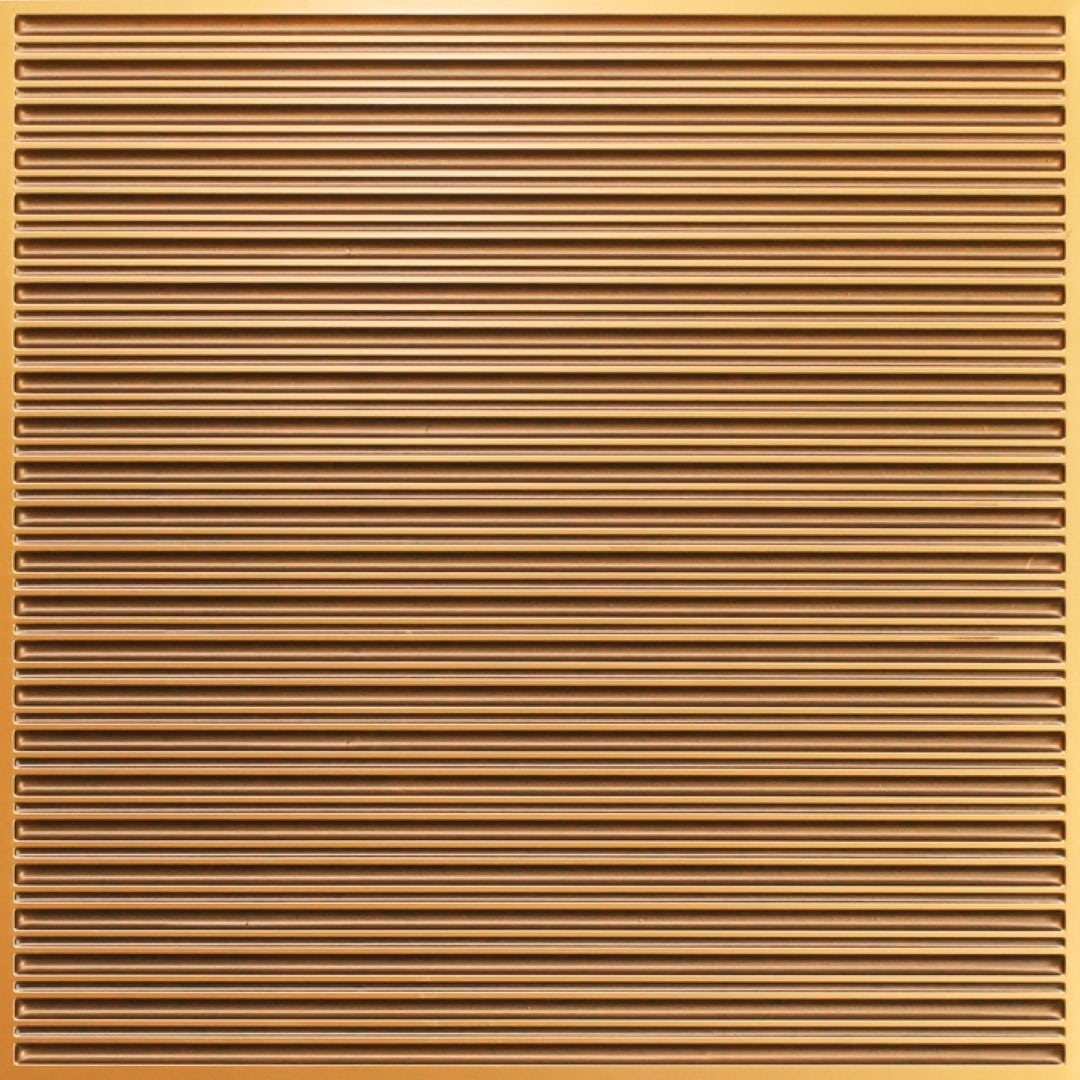 251 Faux Tin Ceiling Tile - Antique Gold