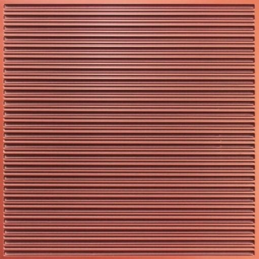 251 Faux Tin Ceiling Tile - Antique Copper