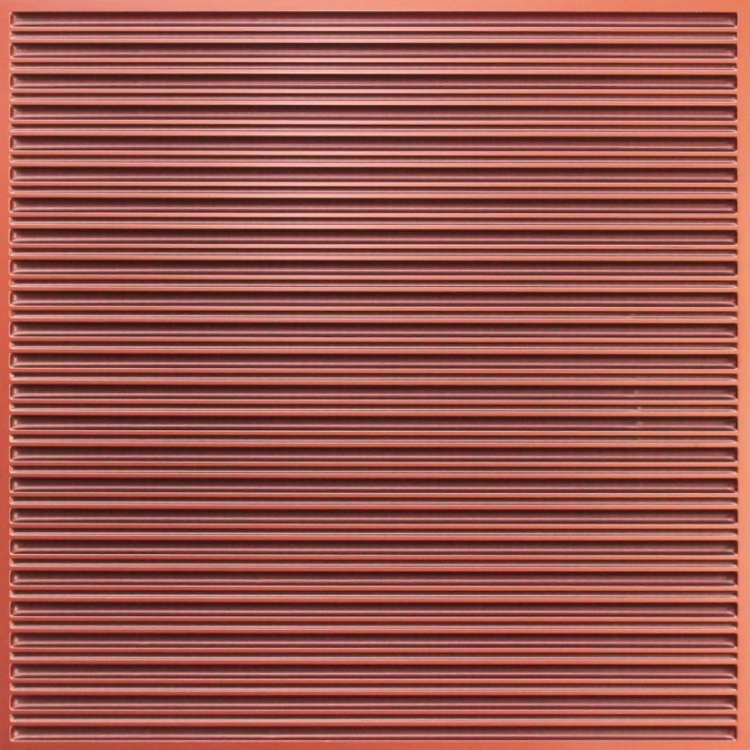 251 Faux Tin Ceiling Tile - Antique Copper