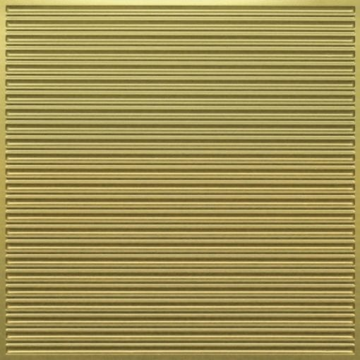 251 Faux Tin Ceiling Tile - Brass