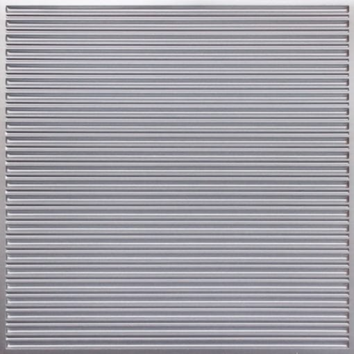 251 Faux Tin Ceiling Tile - Silver