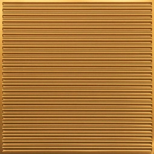 251 Faux Tin Ceiling Tile - Gold