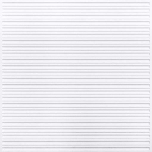 251 Faux Tin Ceiling Tile - White Pearl
