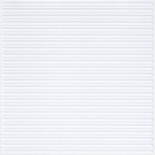 251 Faux Tin Ceiling Tile - White Matte