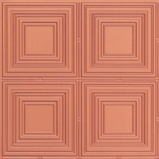 257 Faux Tin Ceiling Tile - Copper