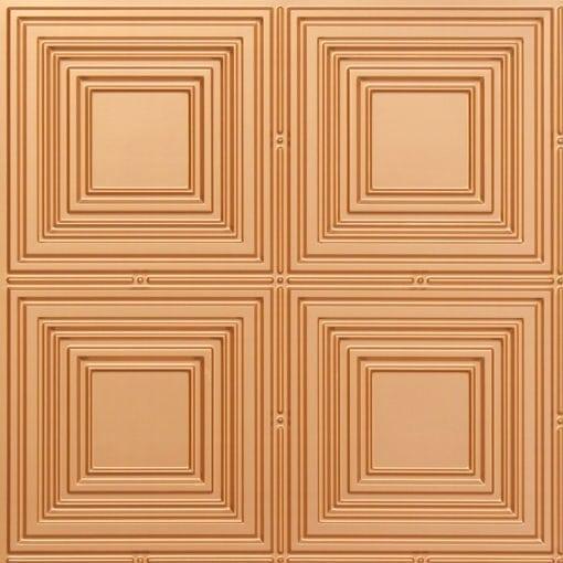 257 Faux Tin Ceiling Tile - Gold