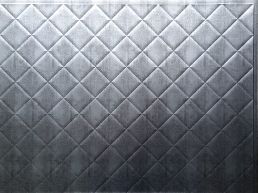 Criss Wall panel - Brushed Nickel