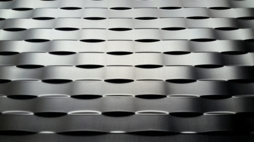 Lattice Wall panel - Brushed Nickel
