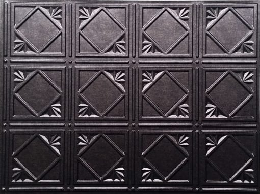 Artnouvo Wall panel - Dark Pewter