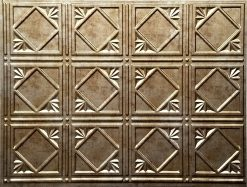 Artnouvo Wall panel - Weathered Bronze