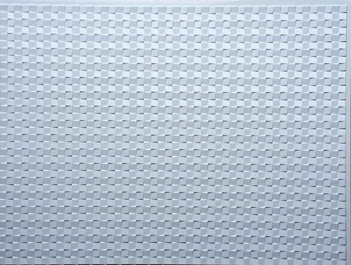 Classic Mozaic Wall panel - White Glossy