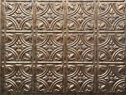 Empire Wall panel - Rustic Copper