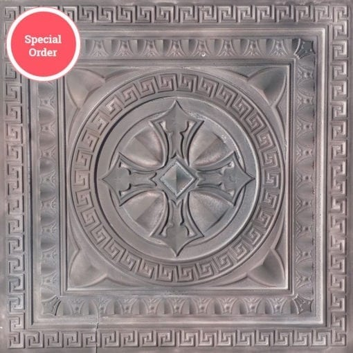 TD01 Faux Tin Ceiling Tile - Talissa Signature Collection - Driftwood