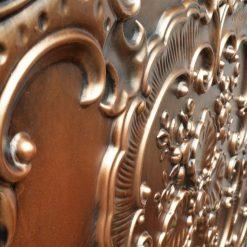 TD19 Faux Tin Ceiling Tile - Aged Copper