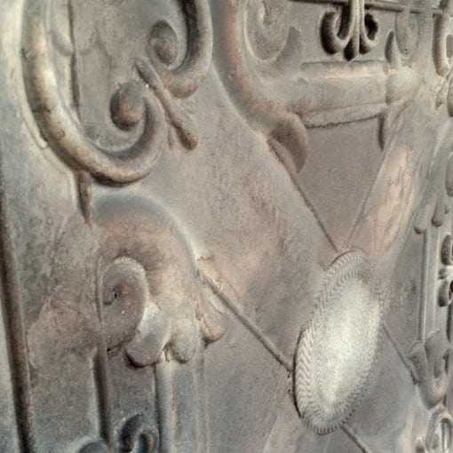 TD22 Faux Tin Ceiling Tile - Reclaimed Tin