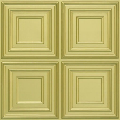 259 Faux Tin Ceiling Tile - Brass