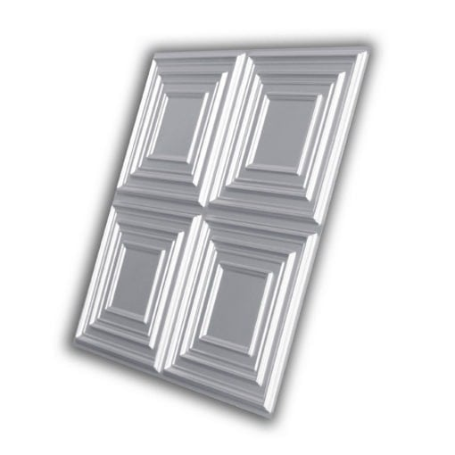 259 Faux Tin Ceiling Tile - Silver