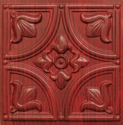 Rosewood ceiling tile