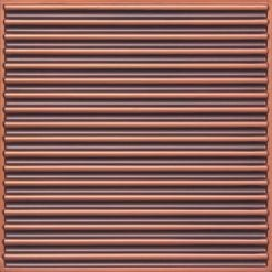 261 Faux Tin Ceiling Tile - Antique Copper