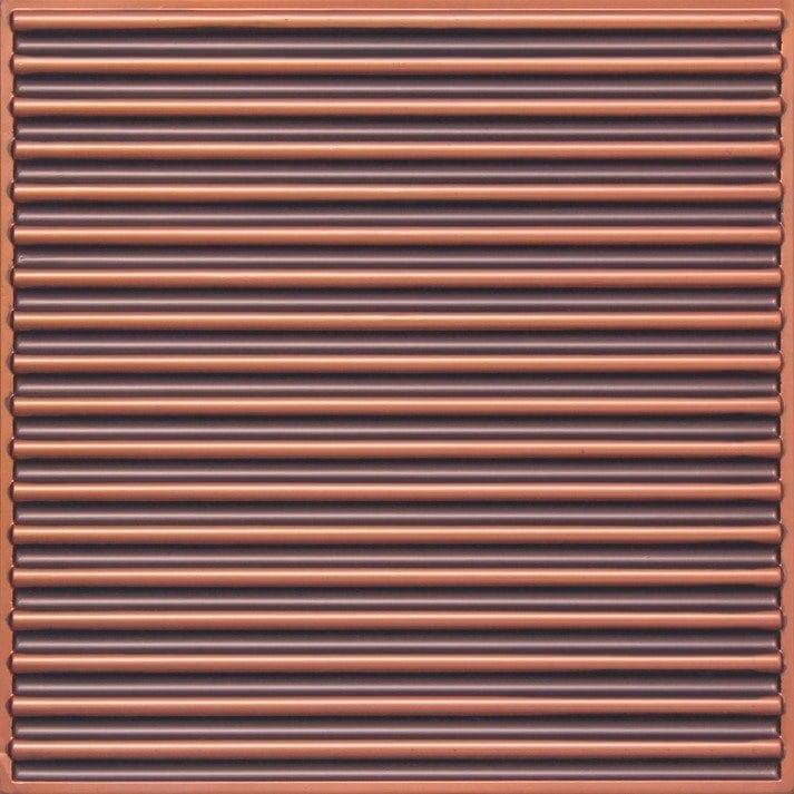 261 Faux Tin Ceiling Tile - Antique Copper