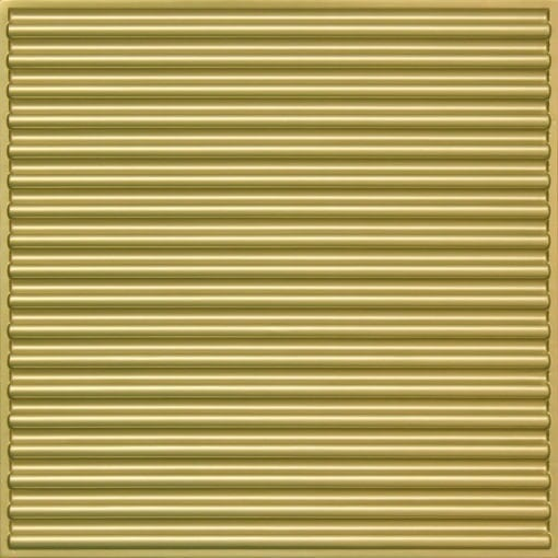261 Faux Tin Ceiling Tile - Brass