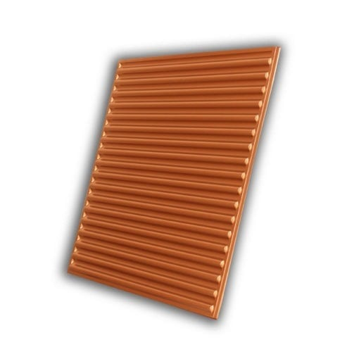 261 Faux Tin Ceiling Tile - Copper