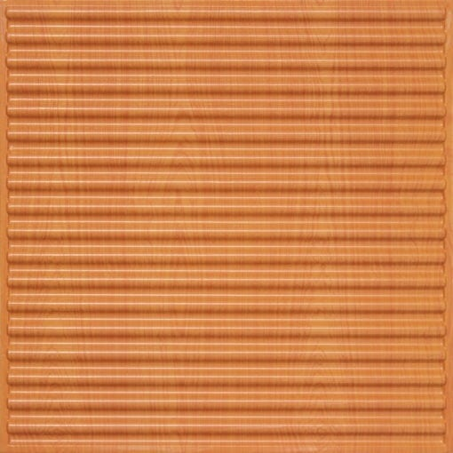 261 Faux Tin Ceiling Tile - Teakwood