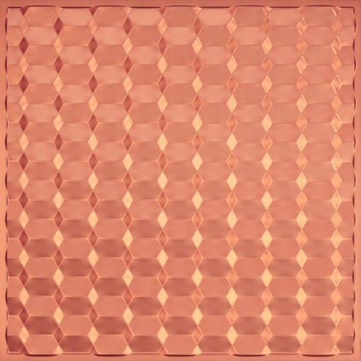 264 Faux Tin Ceiling Tile - Copper