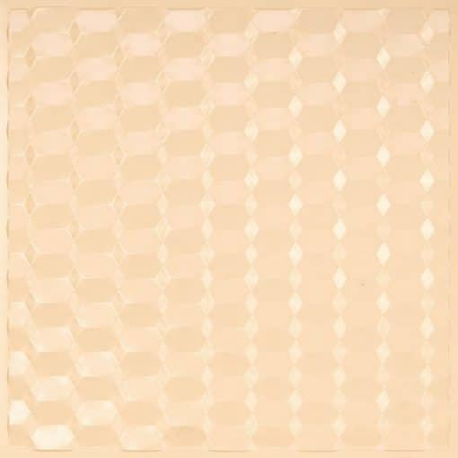 264 Faux Tin Ceiling Tile - Cream Pearl