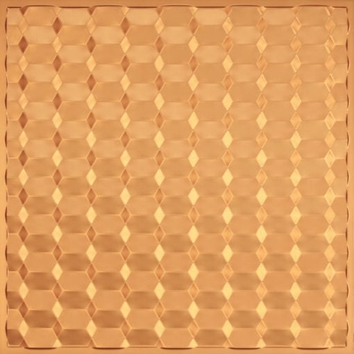 264 Faux Tin Ceiling Tile - Gold