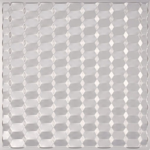 264 Faux Tin Ceiling Tile - Silver