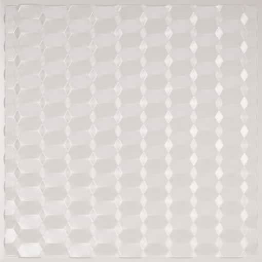 264 Faux Tin Ceiling Tile - White Pearl