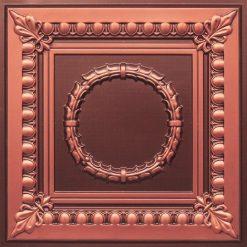 275 Faux Tin Ceiling Tile - Antique Copper