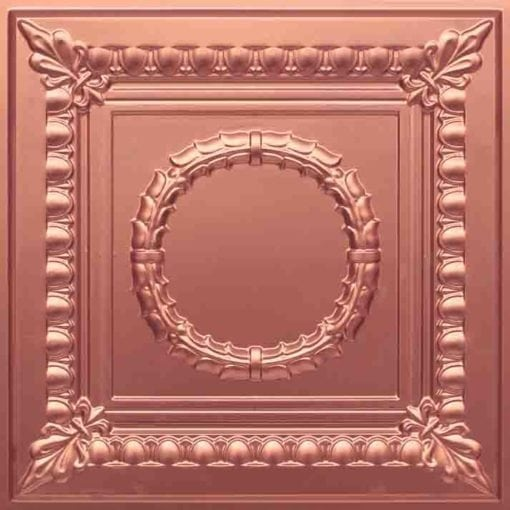 275 Faux Tin Ceiling Tile - Copper