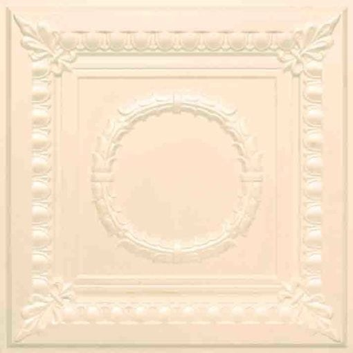 275 Faux Tin Ceiling Tile - Cream Pearl