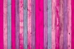 MU1475 - Wall of Pink Wood Planks
