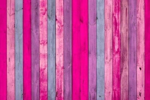 MU1475 - Wall of Pink Wood Planks