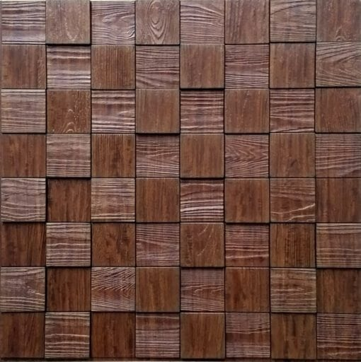 Harmony Cube Wall panel - Wallnut