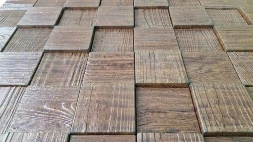 Harmony Cube Wall panel - Wallnut