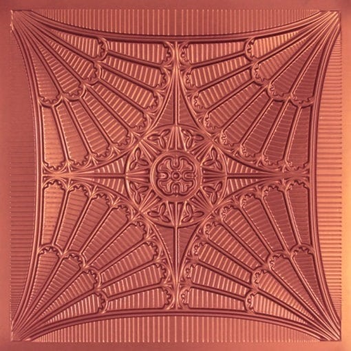 254 Faux Tin Ceiling Tile - Copper