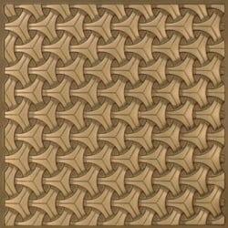 283 Faux Tin Ceiling Tile - Antique Gold