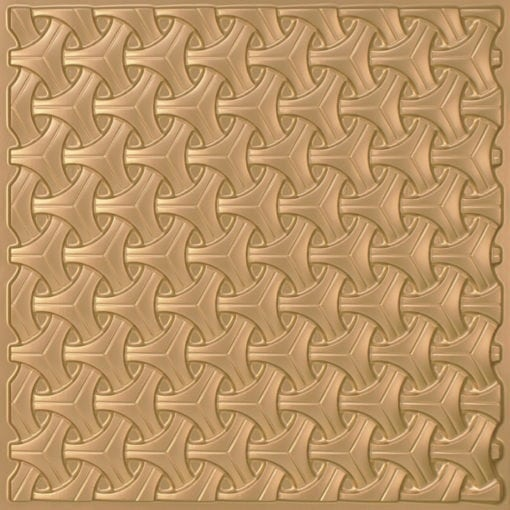 283 Faux Tin Ceiling Tile - Gold