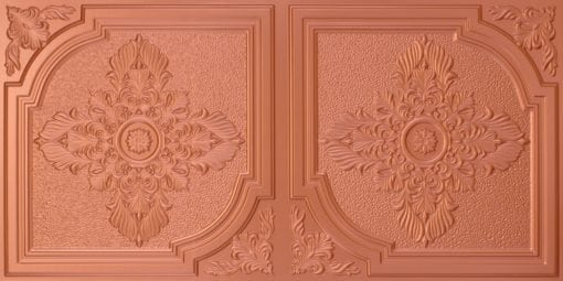 8280 Faux Tin Ceiling Tile - Copper