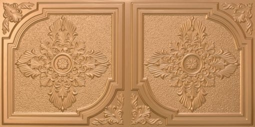 8280 Faux Tin Ceiling Tile - Gold